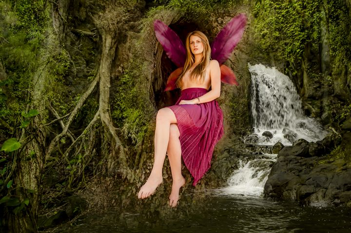 """Forest Fairy"" - Tiffany Luptak Photography"