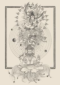 The three deities
