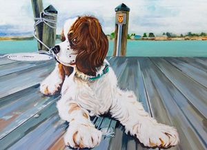 Sadie - Day on the Riva - Cazz Art