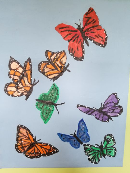 Butterflies are Free - Seascapes