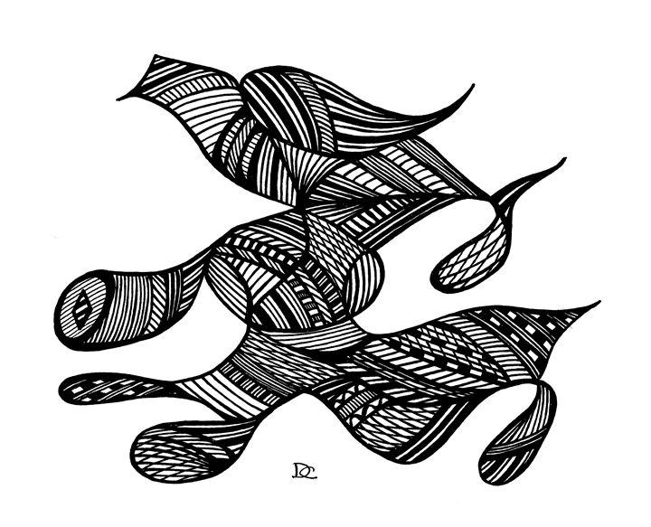#32 Black Running Bird - Civishi