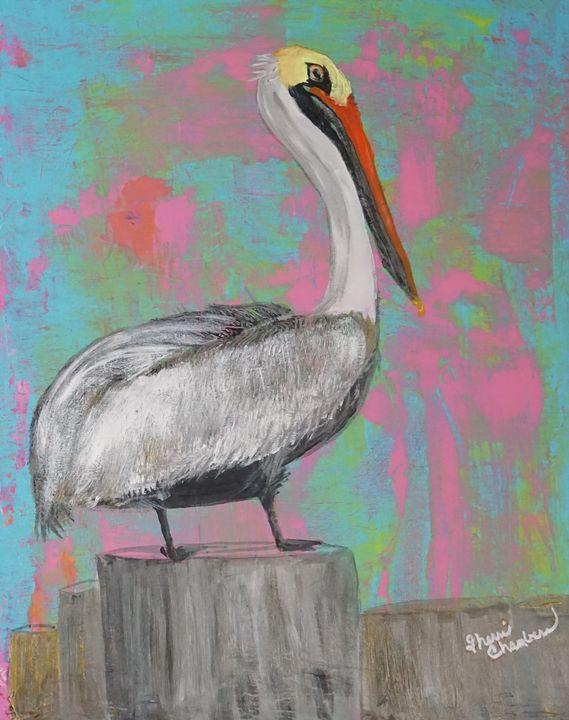 The Proud Pelican - Chambersart
