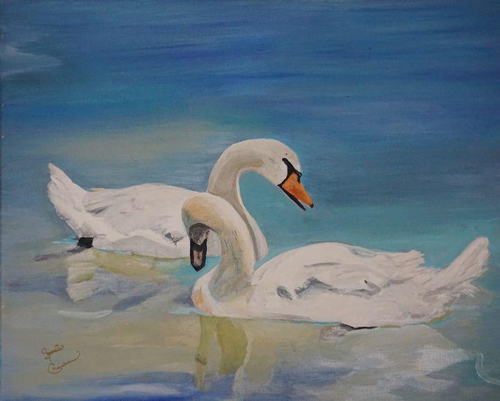 The Elegant Swans - Chambersart