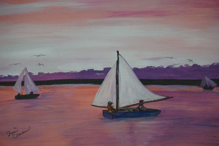 Purple Haze Sailing - Chambersart
