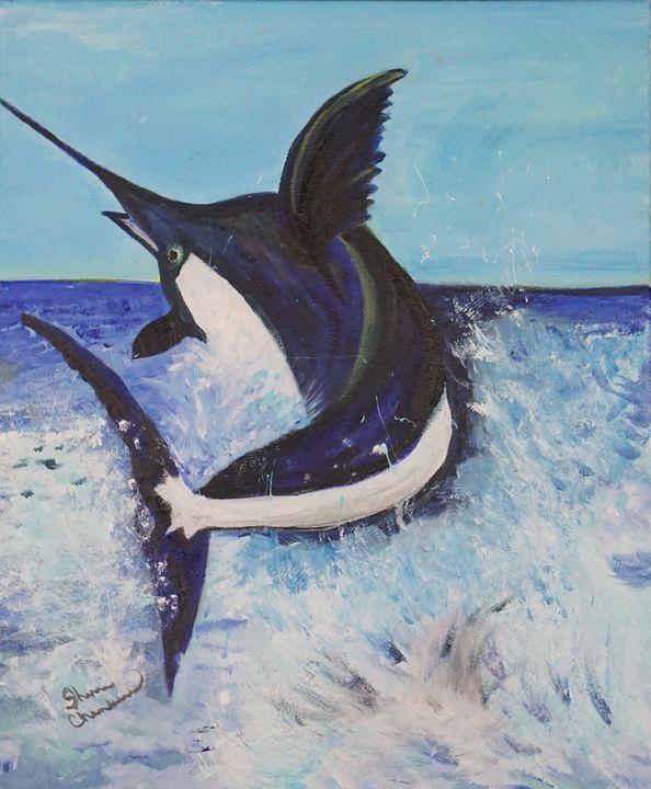 Marlin Sighting - Chambersart