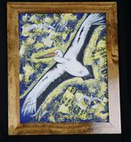 16x20 acrylic with custom frame