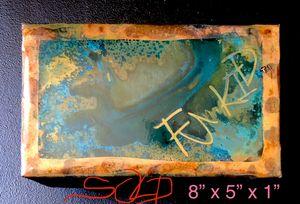 SK.SK.s'ER'SKM ED.Ugly Duckling Blue