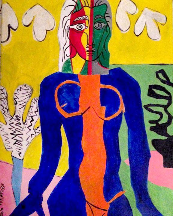 The Orange Stripe - Pablo Matisse