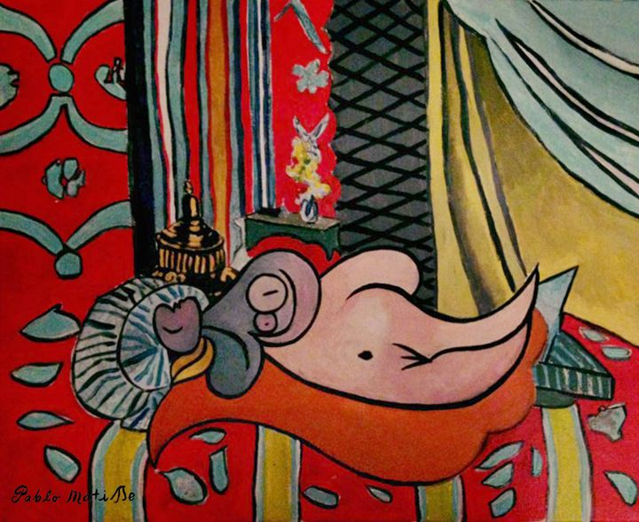 A single frantic sullenness - Pablo Matisse