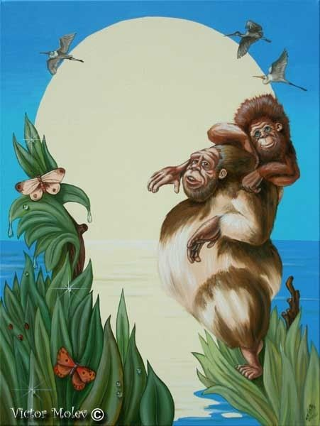 Charles Darwin - Victor Molev