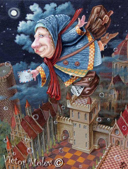 Postwoman - Victor Molev