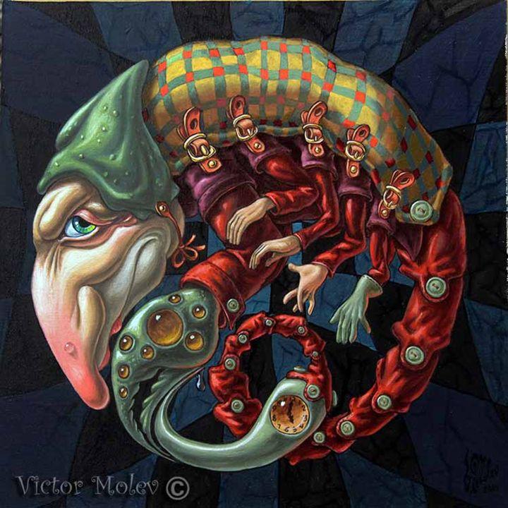 Memento mori.Red Scorpion - Victor Molev
