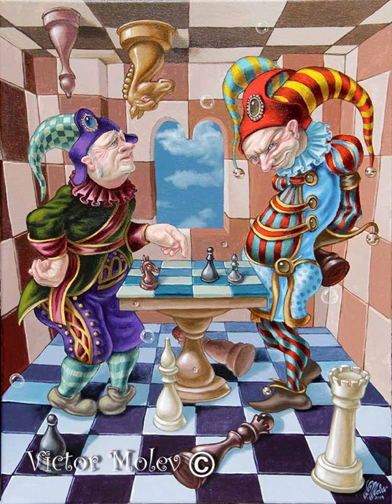 Chess players - Victor Molev