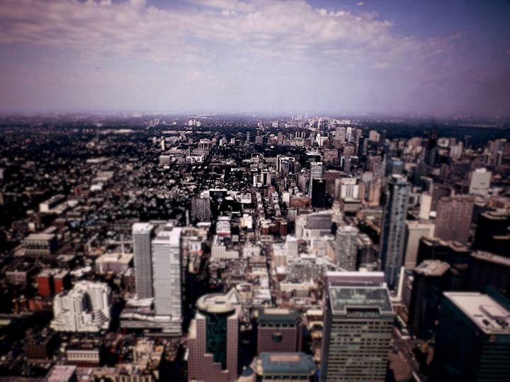 Toronto Cityscape - Frost's Art and Design