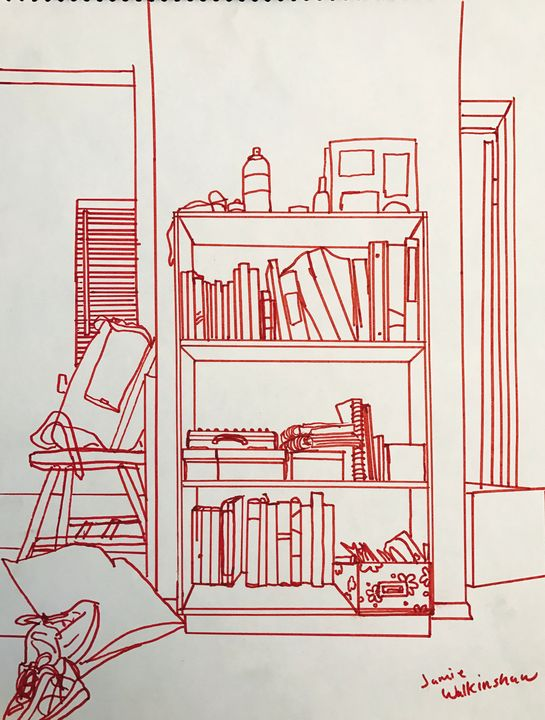 Bookcase - Jamie Beth Walkinshaw