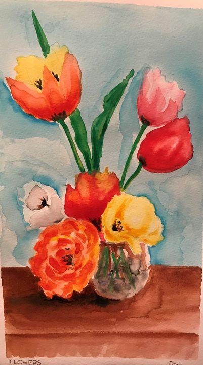 Flowers - Daniel's Art Gallery