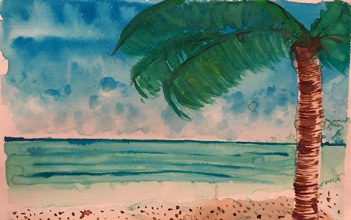 Beach - Daniel's Art Gallery