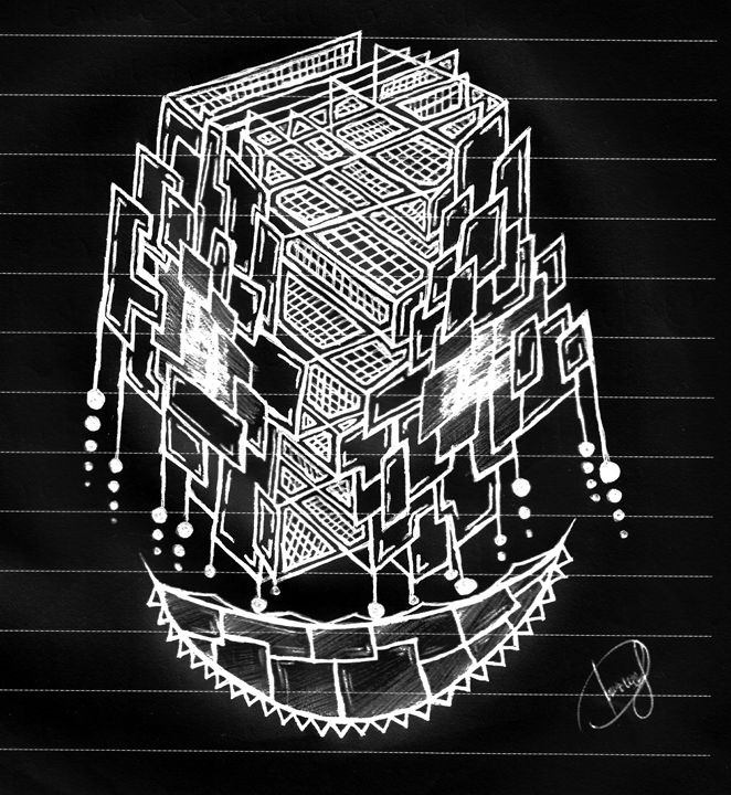 Smile in the lines ( inverted ) - Dimitrios