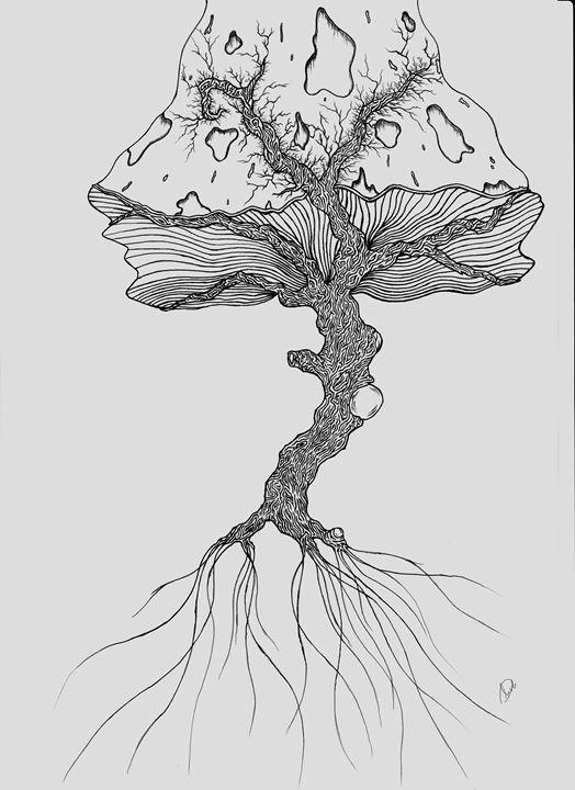 Mushroom Tree - Dimitrios