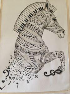 Musical Zebra