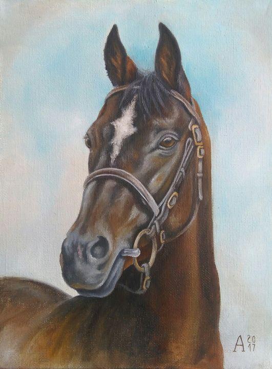 painting horse - art_alex