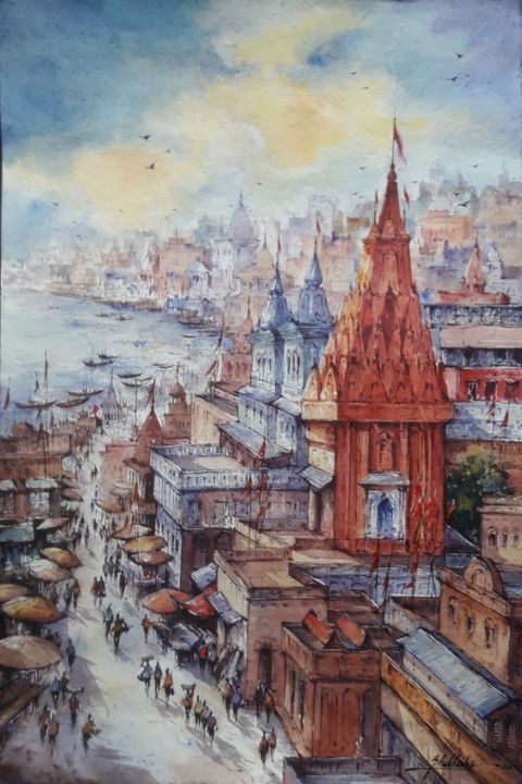Top view of benaras-1 - Art point