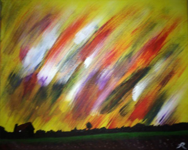 """Painted Skies"" - Arsin's Rogue Art"