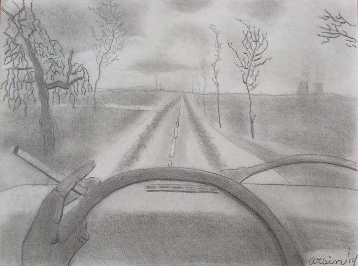 """""""Long Road Home"""" - Arsin's Rogue Art"""