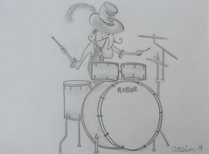 """Bangin-da-Drums"" - Arsin's Rogue Art"