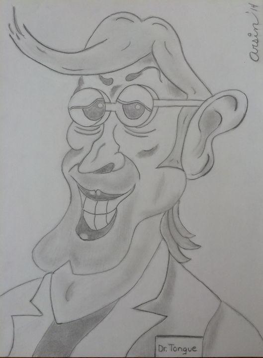 """""""Dr. Tongue"""" - Arsin's Rogue Art"""