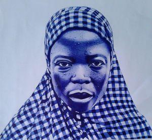 Woman on hijab
