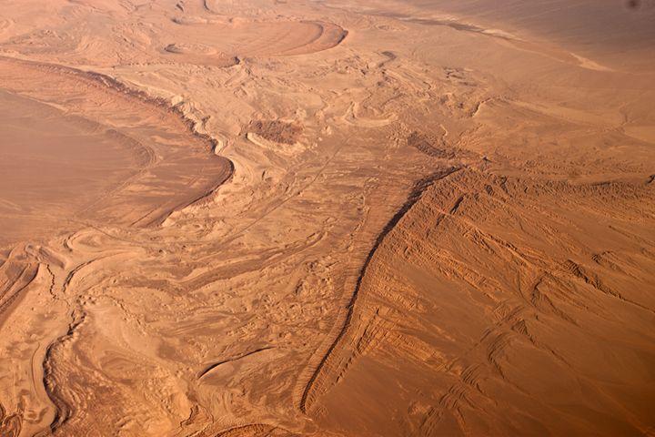 Iran Desert from Top 5 - Behroz BL