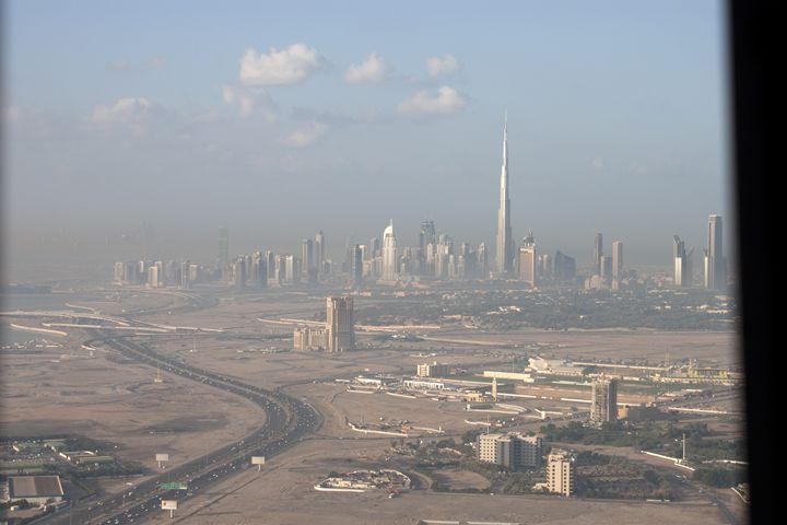 Dubai Down town from al Khahil Rd - Behroz BL