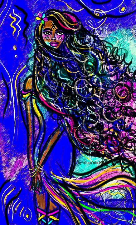 Earth Goddess (Kema) - Ahan'nie Nikole