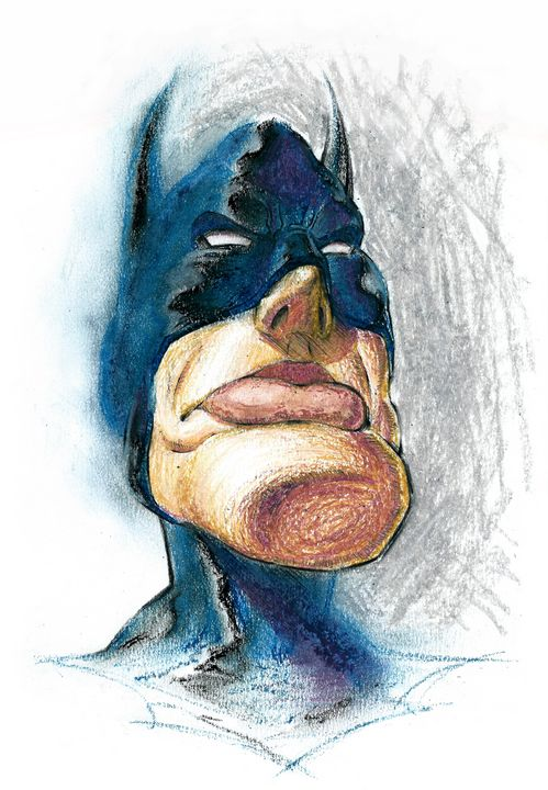 Superhero Caricature - Teodor Ivan