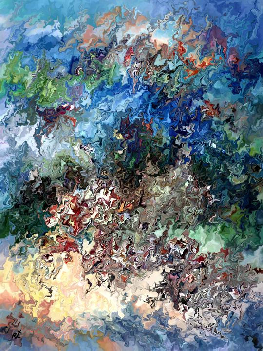 Dancing Colors by rafi talby - RAFI TALBY - PAINTER