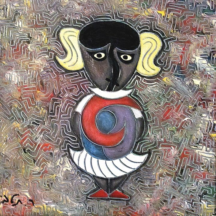 Little girl by rafi talby - RAFI TALBY - PAINTER
