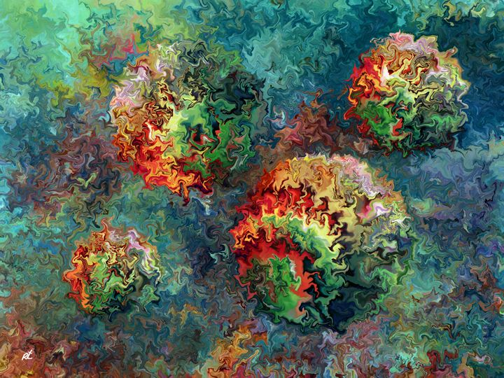 Four Balls by rafi talby - RAFI TALBY - PAINTER