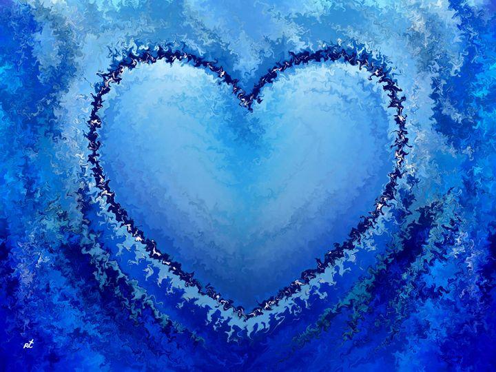 Ice Heart by rafi talby - RAFI TALBY - PAINTER