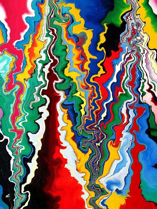 Synthetic lightning by rafi talby - RAFI TALBY - PAINTER
