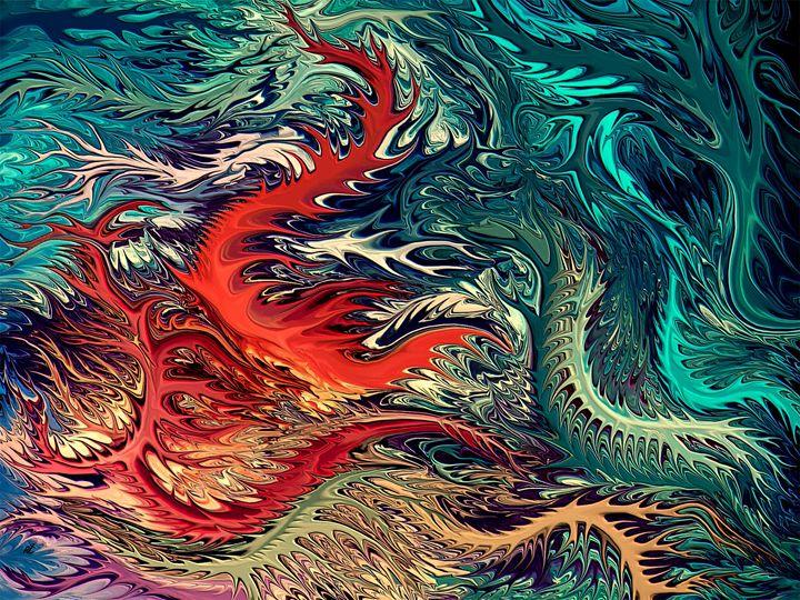 vivid Surrealism by rafi talby - RAFI TALBY - PAINTER