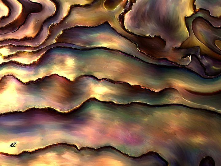 copper land by rafi talby - RAFI TALBY - PAINTER