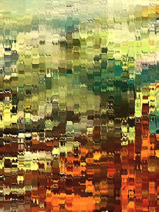 Abstract Industrial by rafi talby - RAFI TALBY - PAINTER