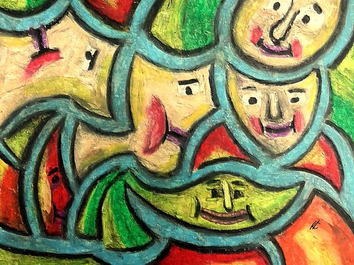 Purple lips by rafi talby - RAFI TALBY - PAINTER
