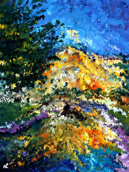 modern composition 08 by rafi talby - RAFI TALBY - PAINTER