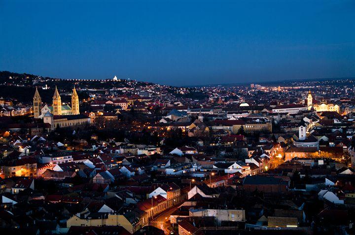 Evening cityscape - Gabor Szabo photography