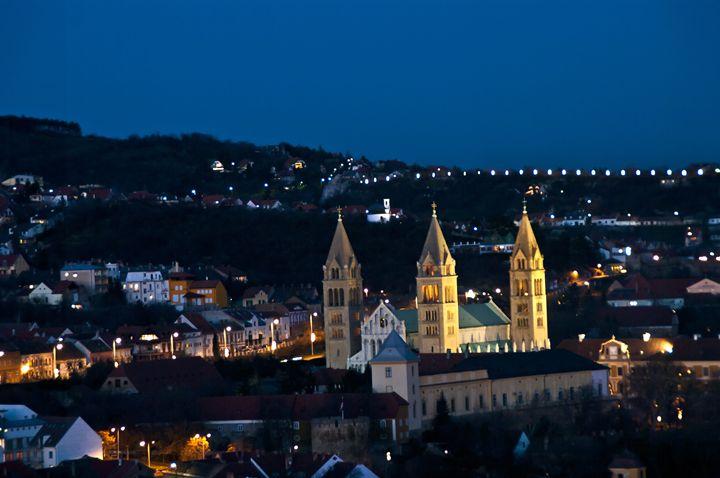 Beautiful church at night - Gabor Szabo photography