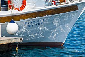 Waves on boat - Gabor Szabo photography