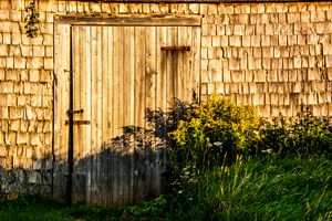 Morning Barn Doorway