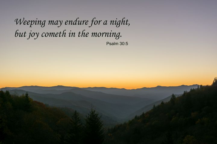 Psalm 30 Sunrise - Doug Wielfaert Photography